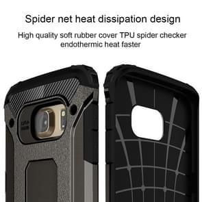 For Galaxy S6 Edge / G925 Tough Armor TPU + PC Combination Case (Bronze)