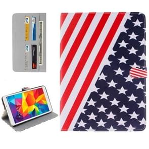 US Flag Pattern Horizontal Flip Leather Case with Holder & Card Slots & Wallet for Samsung Galaxy Tab E 8.0 / T377