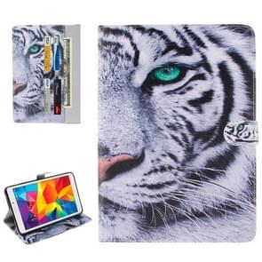 Tiger Pattern Horizontal Flip Leather Case with Holder & Card Slots & Wallet for Samsung Galaxy Tab E 8.0 / T377