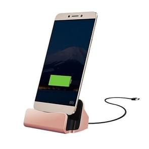 USB-C / Type-C 3.1 Sync Data / Charging Dock Charger for Huawei 6P, LG 5X, Google 5X / 6P, Letv 1S / Le 1 Pro, Xiaomi 4C, Microsoft Lumia 950 / 950X, Nokia N1(Rose Gold)