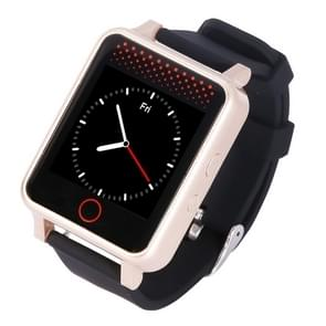 V36 GSM GPS Tracking Communicator Tracker Watch, GPS + WiFi, 5-Mode Real Time Tracking, SOS, Remote Reboot, 2-Way Audio Calls, Sports, Sedentary Reminder, Heart Rate and Blood Pressure Monitoring(Gold)