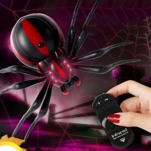 Tricky Funny Toy Infrared Remote Control Scary Creepy Spider, Size: 16*10cm