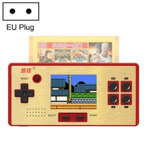CoolBaby RS-98 89 in 1 Classic Games Retro Card Handheld Game Console with 3.0 inch Color Screen, Support AV Output, EU Plug