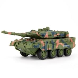 Creative 8020 A27 Leopard Tank Remote-controlled Tank Military Model Toy Car (Green)