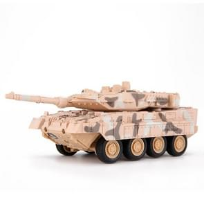 Creative 8020 A27 Leopard Tank Remote-controlled Tank Military Model Toy Car (Yellow)