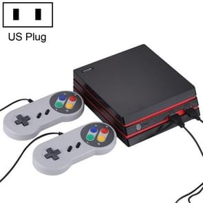 CoolBaby RS-34 600 in 1 Retro Classic Games Dual Wired HDMI / AV Output Video Game Console, Support SD Card, US Plug