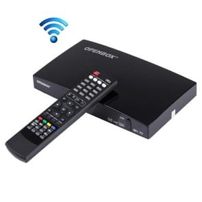 OPENBOX V8S FHD 1080p TV Box HD TV Receiver with Remote Control, Support 3G / WiFi / DLNA / DIVX / DVB-S2 / WEB TV