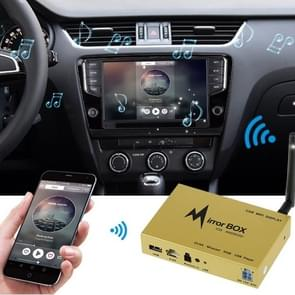 WIFI-836 Car Mobile WiFi Display Screen Mirror Link Push Box with Remote Control(Gold)