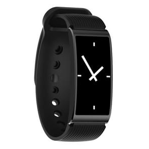 X3 0.96 inch Screen Display Silicone Watch Band Bluetooth Smart Bracelet, IP68 Waterproof, Support Pedometer / Heart Rate Monitor / Sleep Monitor / Blood Pressure Monitor, Compatible with Android and iOS Phones(Black)