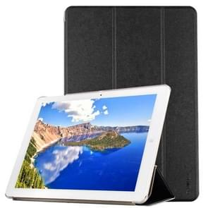 CHUWI Hi12 Tablet Frosted Texture Horizontal Flip Solid Color Leather Case with Three-folding Holder(Black)