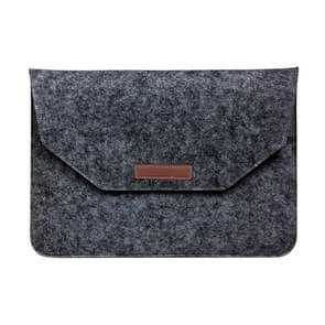 15 Inch Inner Package Phone & Tablet Case Felt Bag for iPhone 7 Plus /  iPhone 7 / Macbook Retina 15.4 inch(Black)