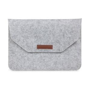 15 Inch Inner Package Phone & Tablet Case Felt Bag for iPhone 7 Plus /  iPhone 7 / Macbook Retina 15.4 inch(Grey)