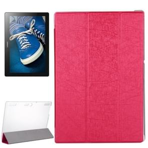For Lenovo Tab 2 X30F A10-30 Oracle Texture Horizontal Flip Leather Case with 3-folding Holder(Magenta)