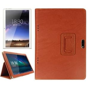 ONDA V96 Octa-core / V96 3G Calling Tablet(WMC0006/WMC0667J) Bark Texture Horizontal Flip Leather Case with Holder(Brown)