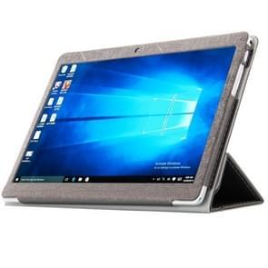Cube U63 / U63GT (WMC0004) Steel Wire Texture Horizontal Flip Leather Case with Three-folding Holder(Black)