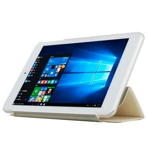 Cube iwork8 Ultimate (S-WMC-0689) Frosted Texture Horizontal Flip Leather Case with Three-folding Holder(White)