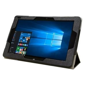 Cube iwork10 Tablet PC Frosted Texture Horizontal Flip Leather Case with 3-folding Holder(Black)