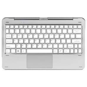 Cube CKD08 Rotation Design Magnetic Keyboard with Touch Pad & Dual USB Port for Cube iwork1X 11.6 inch Tablet PC (WMC1246W)(White)