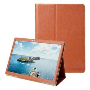 Teclast T10 Tablet(WMC2371) Bark Texture Horizontal Flip Leather Case with Holder(Brown)