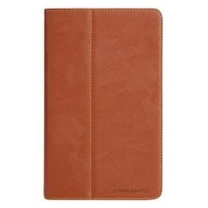 Teclast T8 Tablet(WMC2370) Bark Texture Horizontal Flip Leather Case with Holder(Brown)