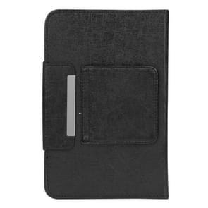 universeel afneembaar Magnetic blauwtooth Touchpad toetsenbord lederen hoesje met houder voor 10.1 inch iSO & Android & Windows Tablet PC(zwart)