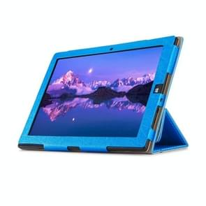 OCUBE ONDA oBook 20 Plus (WMC0033) Steel Wire Texture Horizontal Flip Leather Case with Three-folding Holder(Blue)