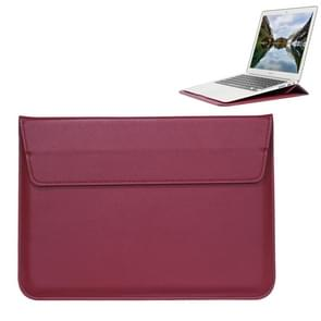 Universal Envelope Style PU Leather Case with Holder for Ultrathin Notebook Tablet PC 15.4 inch, Size: 39x28x1.5cm