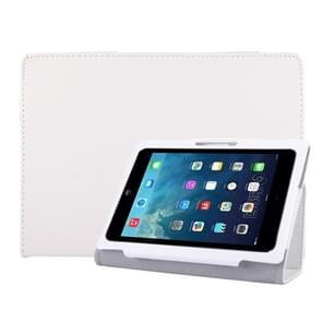 Universal 9.6 inch / 10.1 inch Tablets PC Protective Leather Case(White)