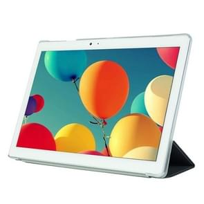 Frosted Texture Horizontal Flip PU Leather Protective Case for Teclast T10,  with Three-folding Holder (Black)
