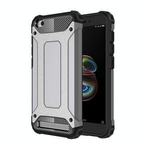 Xiaomi roodmi 5A Magic Armor TPU + PC combinatie hoesje(grijs)