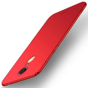 MOFI Xiaomi Redmi 5 Plus PC Ultra-thin Edge Fully Wrapped Up Protective Case Back Cover(Red)