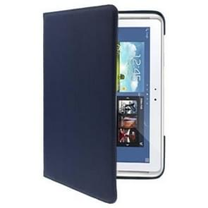 360 Degree Rotatable Leather Case for Samsung Galaxy Note (10.1) / N8000 / N8010(Dark Blue)