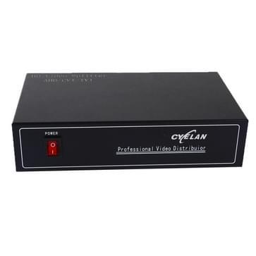Coaxiale AHD/CVI/TVI 2 in 4 video signaal splitter