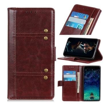 Voor Samsung Galaxy S30 Ultra Peas Crazy Horse Texture Horizontale Flip Lederen Case met Holder & Card Slots & Wallet(Brown)