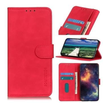 Khazneh Retro Texture PU + TPU Horizontale Flip Lederen Case met Houder & Card Slots & Portemonnee voor iPhone 13 Mini