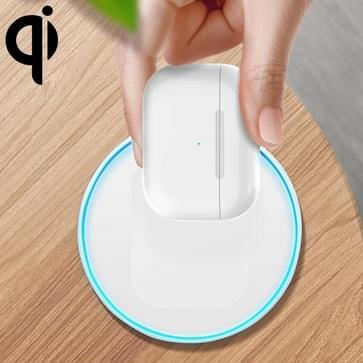 A05 3W Qi Bluetooth Oortelefoon Draadloze oplader voor Airpods 2 / PRO  met 8-pins poort en ademlantel