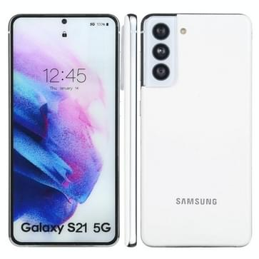 Kleurenscherm niet-werkend Fake Dummy Display Model voor Samsung Galaxy S21 5G (wit)