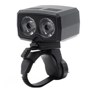 Y15 2 x CREE XPG2 500LM USB-opladen fiets LED koplamp voorlicht met 5 modi