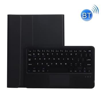 AW11-A afneembare lambextuur ultradunne tpubluetooth toetsenbord lederen tas met touchpad & stand voor Huawei MatePad 11 2021