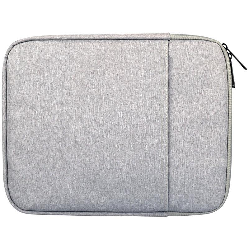 ND00 8 inch schokbestendig Tablet liner Sleeve Pouch tas cover  voor iPad Mini 1/2/3/4 (grijs)