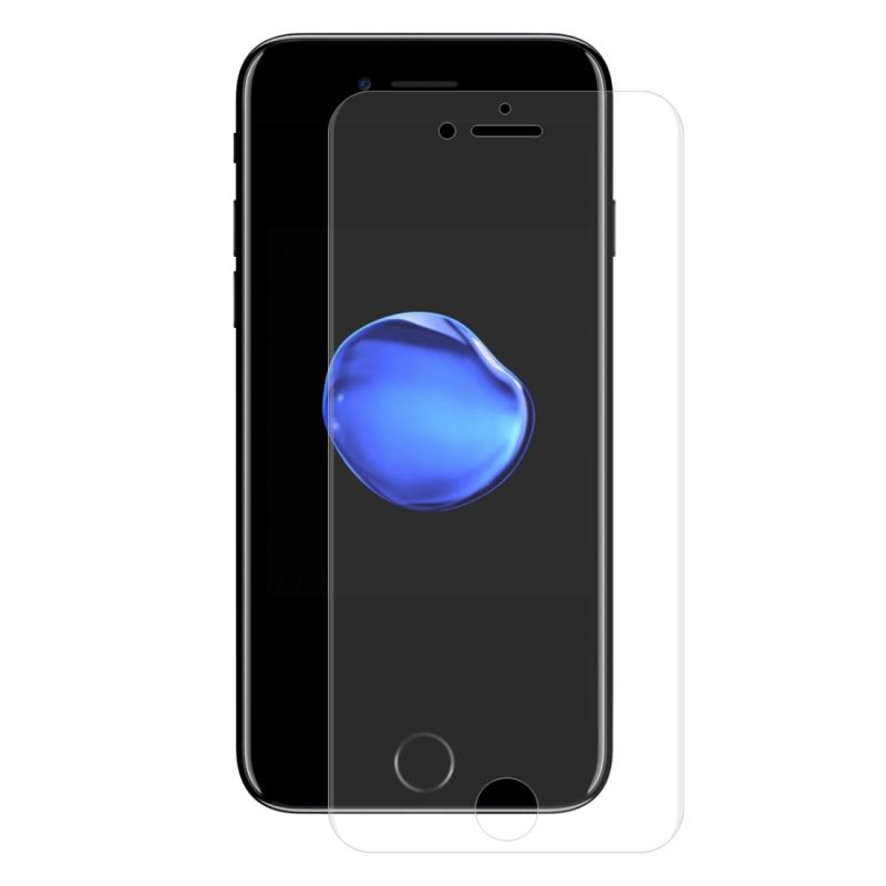 ENKAY Hat-Prins PET volledig scherm 3D gebogen warmte buigen HD Screen Protector voor iPhone 8 & 7 (transparant)