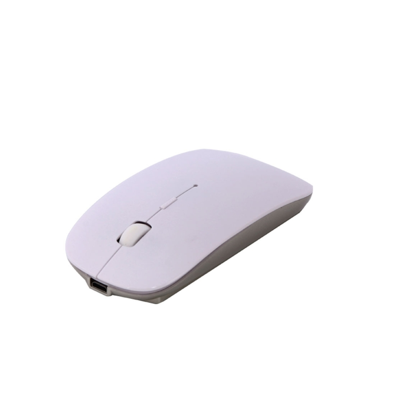MC-008 Bluetooth 3.0 batterij opladen draadloze muis voor Laptops en Androïde mobiele telefoon (wit)