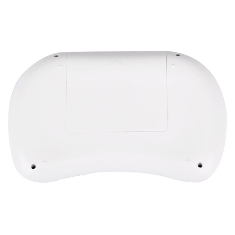 MWK08 2.4GHz Fly Air Mouse draadloos Mini toetsenbord met ingebouwde USB ontvanger voor Android TV Box / PC