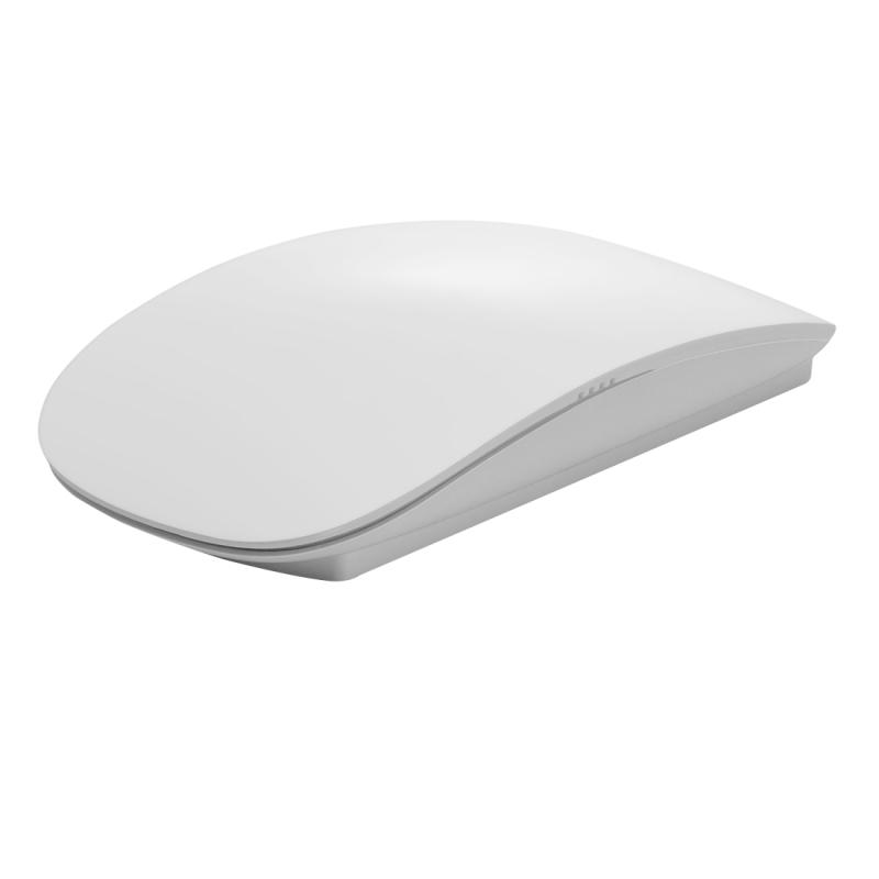 TM-823 2.4G 1200 DPI Wireless Touch optische scrollmuis voor Mac Desktop Laptop(White)