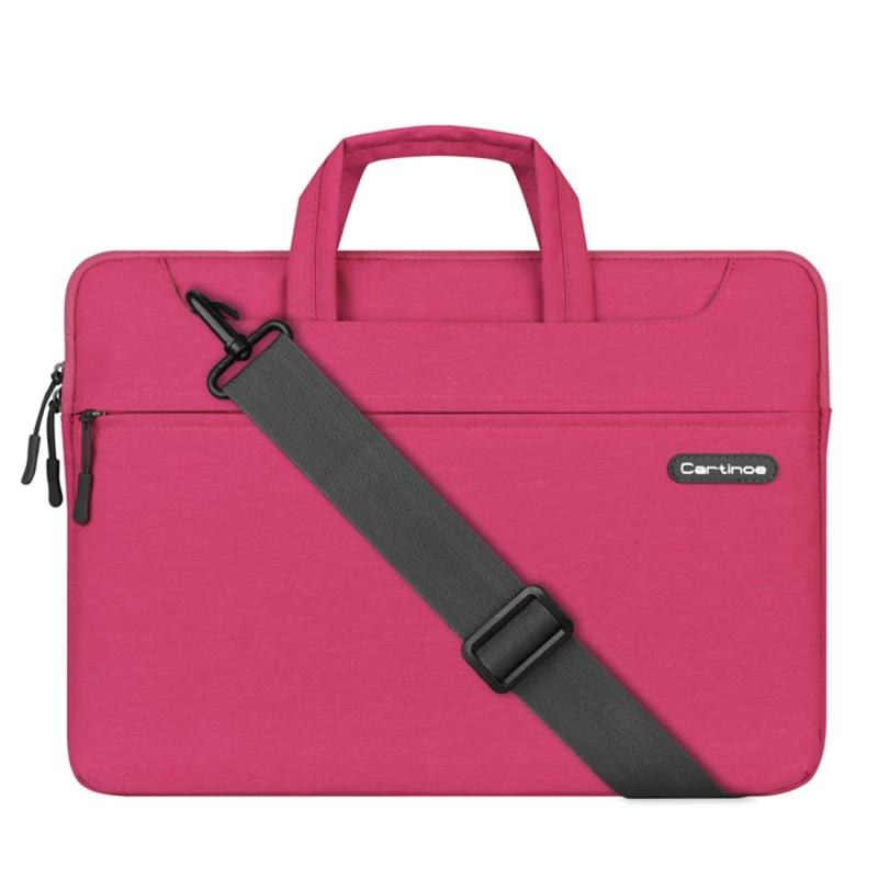 Cartinoe Sterrenhemel serie 15.4 inch draagbare Laptoptas met verwijderbare schouderband voor MacBook  Lenovo en andere Laptops  Interne afmetingen: 39 x 27.5 x 3.5 cm (roze)