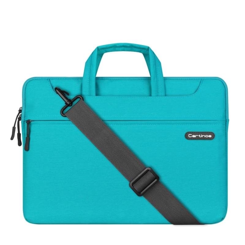Cartinoe Sterrenhemel serie 15.4 inch draagbare Laptoptas met verwijderbare schouderband voor MacBook  Lenovo en andere Laptops  Interne afmetingen: 39 x 27.5 x 3.5 cm (blauw)