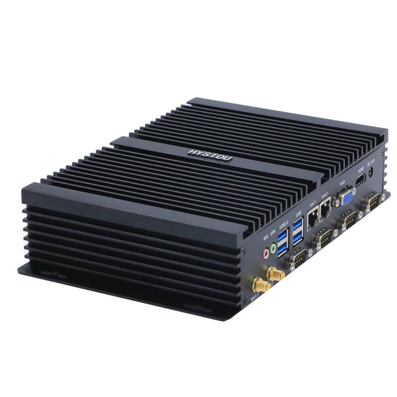 HYSTOU FMP04-i5-3317U Mini PC Core i5-3317U Intel QS77 Express 2.6GHz  RAM: 8GB  ROM: 128GB  ondersteunt Windows 10 / Linux OS