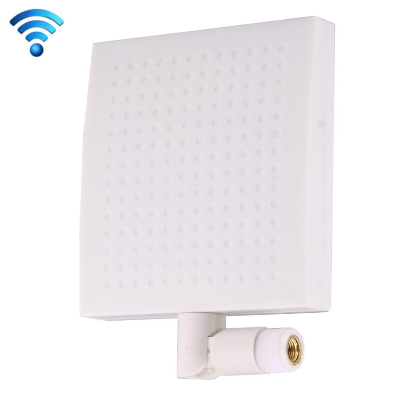 12dBi SMA mannetje Connector 5.8GHz Paneel WiFi Antenne wit