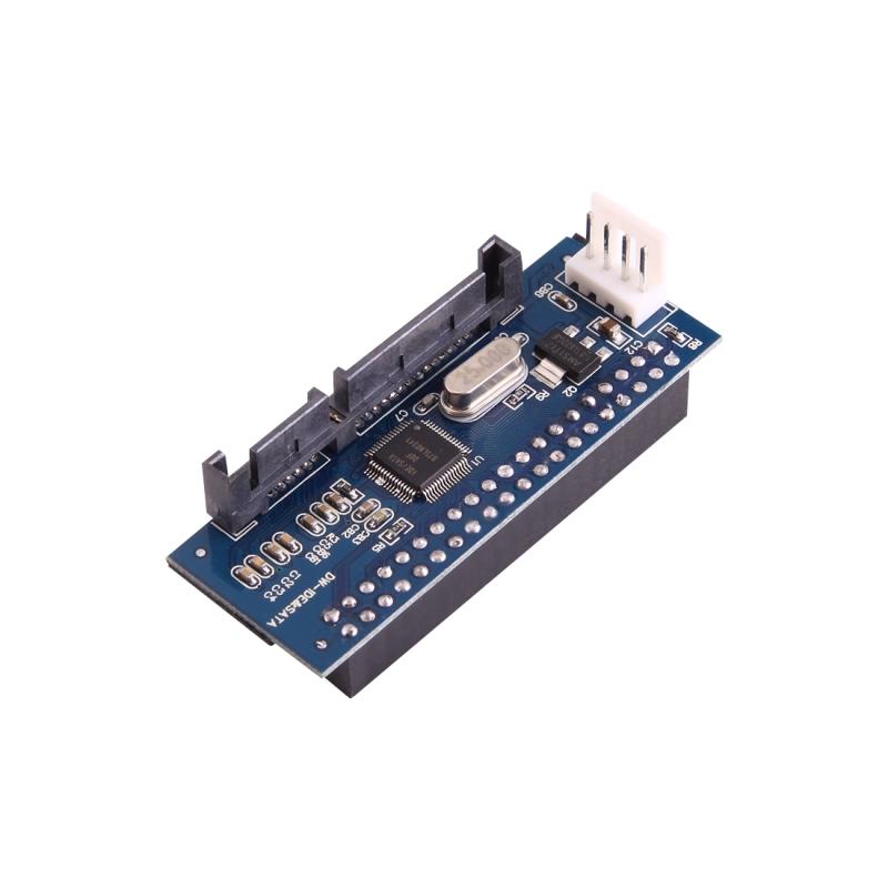 40 pins IDE Female naar SATA kaart 7 Pin + 15 Pin (Pin-nummer 22) Male Adapter voor Hard Drive aansluiten