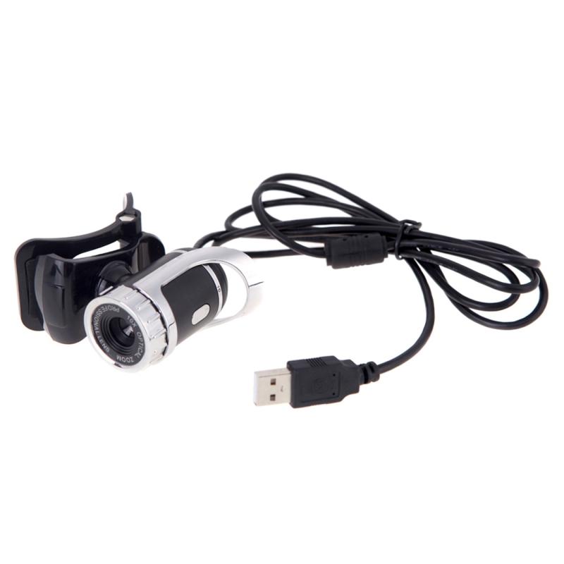 A859 12.0 Megapixels HD 360 graden draaibaar USB 2.0 WebCam / PC Camera met microfoon voor Skype Computer PC Laptop  kabel lengte: 1.4 meter